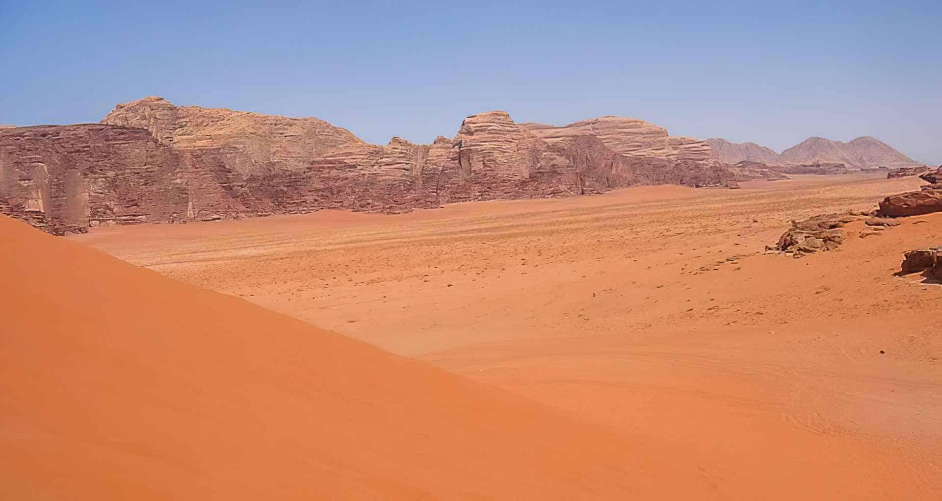Foto de Wadi Rum: El desierto de Lawrence de Arabia
