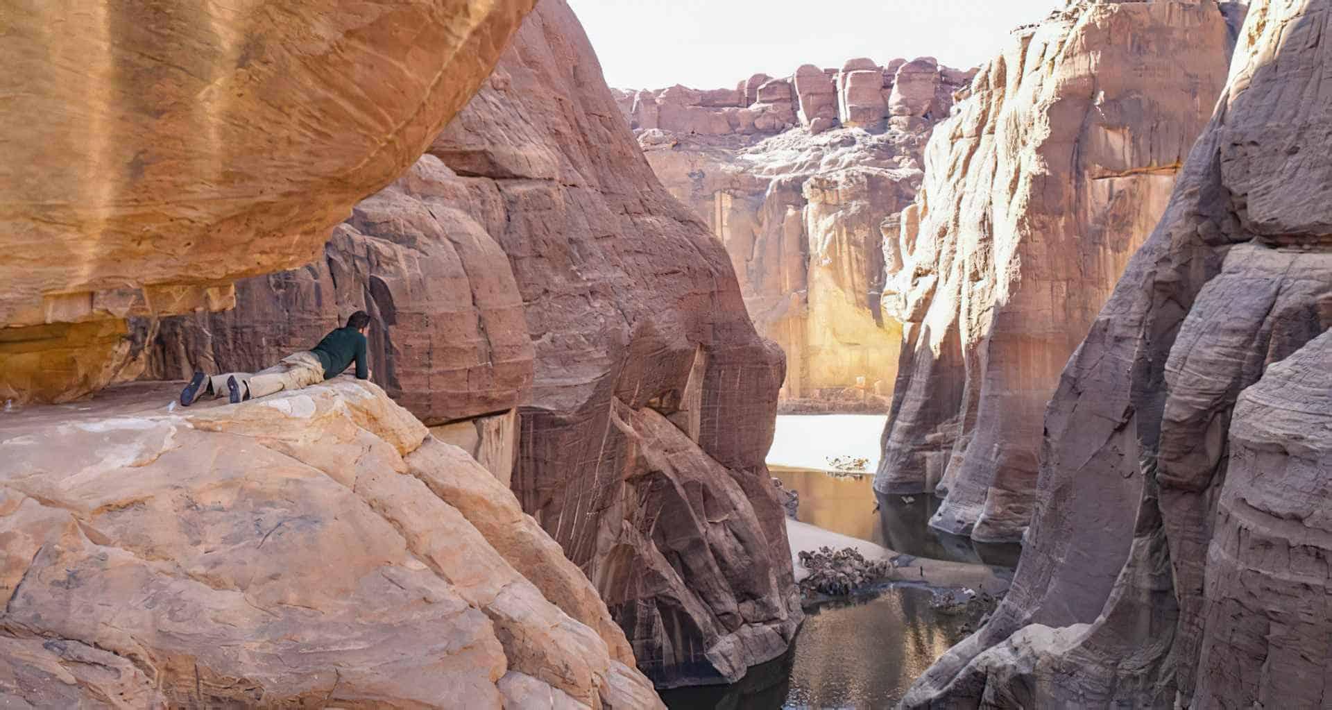 Foto de El Guelta de Archei, el oasis de camellos más famoso del Sáhara