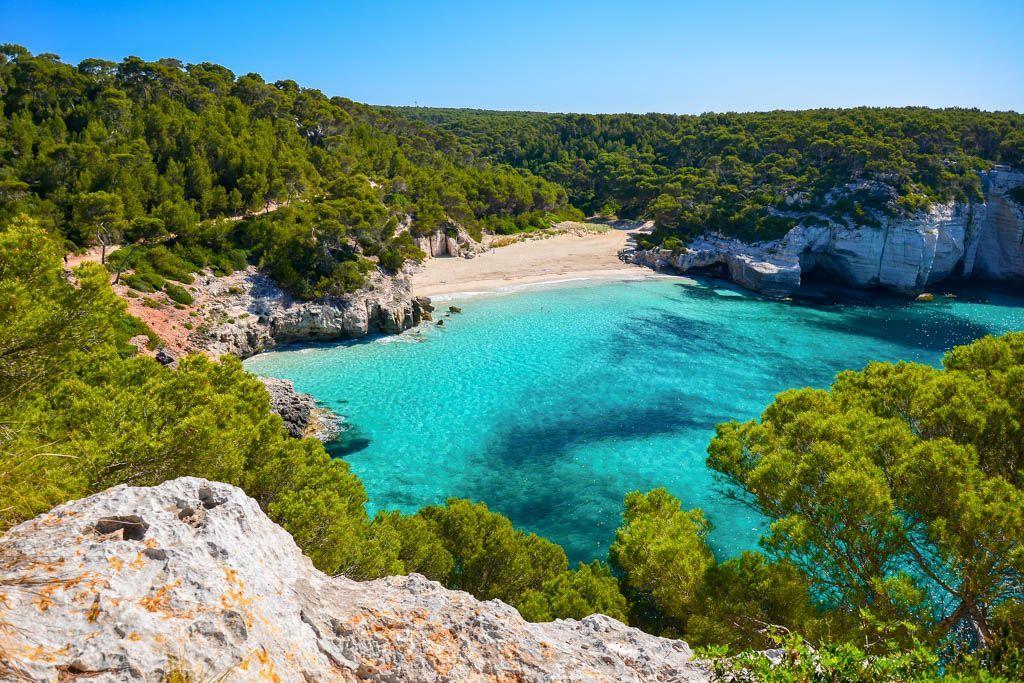 Calas de Menorca, Galdana, Macarella, mejores, Morell, por libre, Porter, Pregonda, Trebalúguer, Turqueta