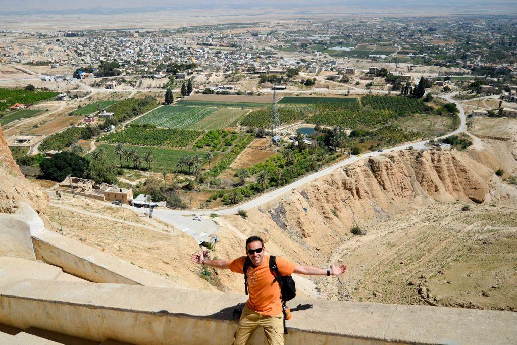 coche de alquiler, Ein Gedi, israel, Jerico, mar muerto, Masada, palestina, por libre, San Jorge, Territorios Palestinos, viaje en pareja